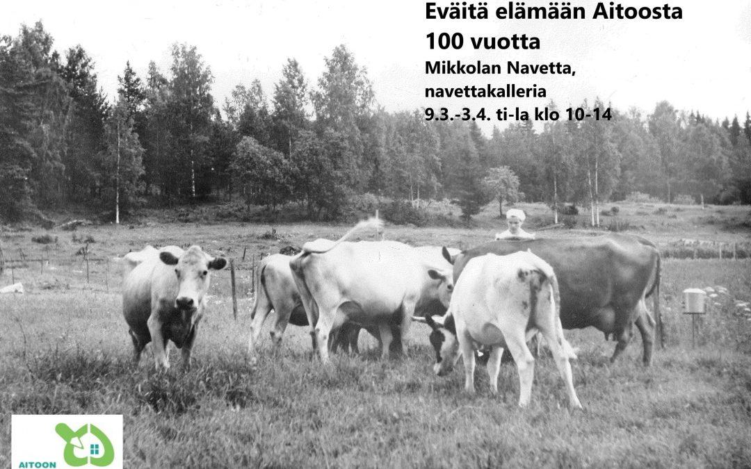 100-vuotinen historiamme on esillä näyttelyssä Luopioisissa